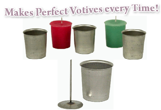 Votive molds & Wick Pins